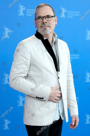 Stock Image of David France poses during the 'Welcome to Chechnya' photocall during the 70th annual Berlin International Film Festival (Berlinale), in Berlin, Germany, 26 February 2020. The movie is presented in the Panorama section at the Berlinale that runs from 20 February to 01 March 2020.