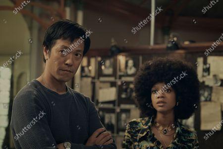Louis Ozawa as Joe Mizushima and Tiffany Boone as Roxy Jones