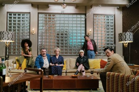 Tiffany Boone as Roxy Jones, Saul Rubinek as Murray Markowitz, Carol Kane as Mindy Markowitz, Kate Mulvany as Sister Harriet, Josh Radnor as Lonny Flash and Louis Ozawa as Joe Mizushima