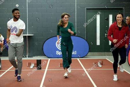 Editorial image of Catherine Duchess of Cambridge attends a SportsAid event, Stratford, London, UK - 26 Feb 2020