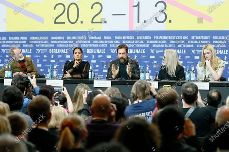 Editorial photo of The Roads Not Taken - Press Conference - 70th Berlin Film Festival, Germany - 26 Feb 2020