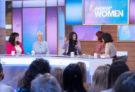 Editorial photo of 'Loose Women' TV show, London, UK - 26 Feb 2020