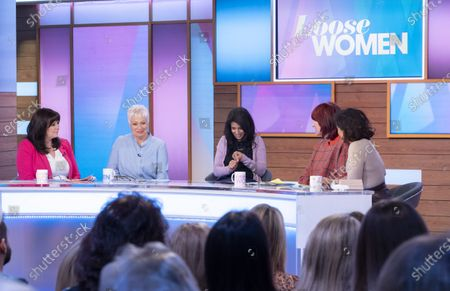 Coleen Nolan, Denise Welch, Konnie Huq, Janet Street-Porter and Saira Khan