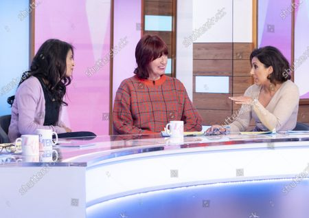 Konnie Huq, Janet Street-Porter and Saira Khan
