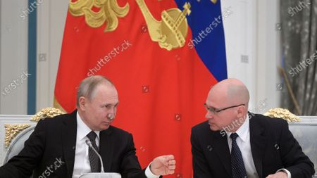 Editorial picture of Putin chair a meeting on the constitution amendments, Moscow, Russian Federation - 26 Feb 2020