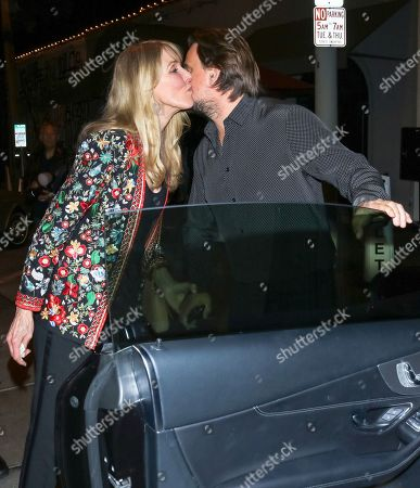Editorial picture of Alana Stewart and Sean Stewart out and about, Los Angeles, USA - 25 Feb 2020