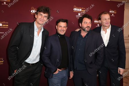 Eric Altmayer, Francois Ozon, Denis Menochet, Nicolas Altmayer