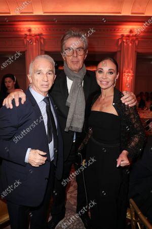 Alain Terzian, Dominique Desseigne, Alexandra Cardinale