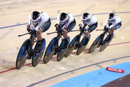 Editorial image of 2020 UCI Track Cycling World Championships. Berlin, Germany - 26 Feb 2020