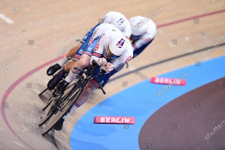 Editorial photo of 2020 UCI Track Cycling World Championships. Berlin, Germany - 26 Feb 2020