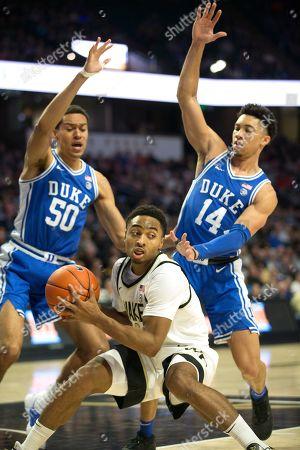 Editorial image of Duke Wake Forest Basketball, Winston-Salem, USA - 25 Feb 2020