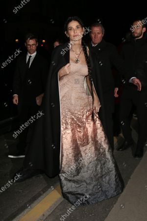 Editorial photo of Celebrities out and about, Fall Winter 2020, Paris Fashion Week, France - 26 Feb 2020