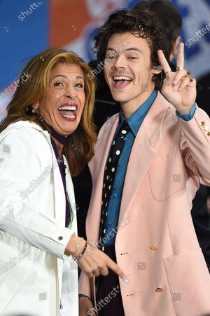 Hoda Kotb and Harry Styles