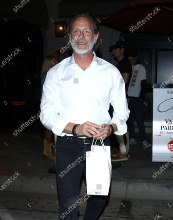 Editorial image of Steven Weber out and about, Los Angeles, USA - 25 Feb 2020