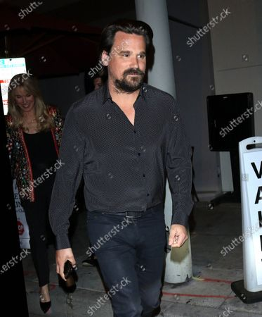 Editorial image of Sean Stewart out and about, Los Angeles, USA - 25 Feb 2020