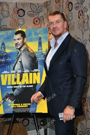 Editorial image of 'Villain' film premiere, Charlotte Street Hotel, London, UK - 26 Feb 2020
