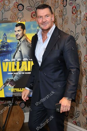 Editorial picture of 'Villain' film premiere, Charlotte Street Hotel, London, UK - 26 Feb 2020