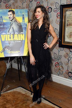 Editorial photo of 'Villain' film premiere, Charlotte Street Hotel, London, UK - 26 Feb 2020