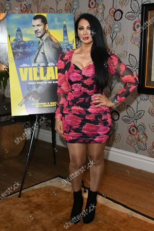 Editorial image of 'Villain' film premiere, Charlotte Street Hotel, London, UK - 26 Feb 2020