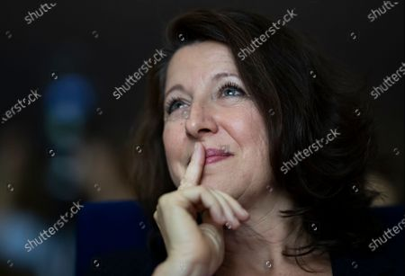 Former French Health Minister and mayoral candidate for Paris Agnes Buzyn attends a campaign rally in Paris, France, 26 February 2020. Buzyn took the candidacy for La Republique En Marche (LaREM) party, replacing former candidat Benjamin Griveaux who dropped his candidacy in the Paris municipal elections on 14 February over publication of sexual imagery allegedly related to him on social media.