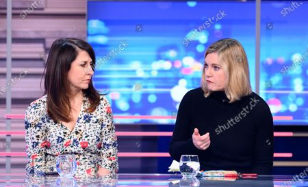 Stock Picture of Justine Greening and Liz Kendall.