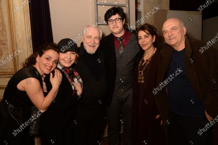 Nicole Ansari-Cox, Lulu, Brian Cox, Guests