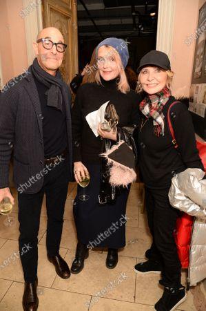 Stanley Tucci, Miranda Richardson and Lulu