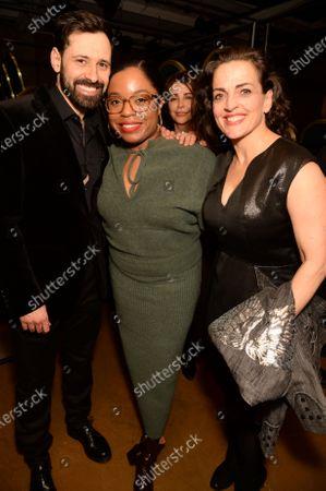 Adam Sina, Lawryn LaCroix and Nicole Ansari-Cox