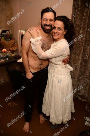 Adam Sina and Nicole Ansari-Cox