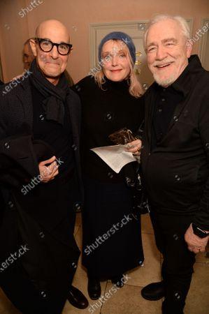 Stock Image of Stanley Tucci, Miranda Richardson and Brian Cox