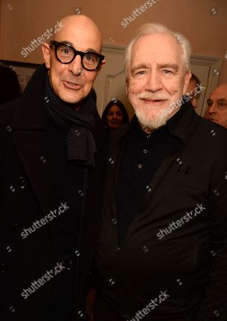 Stanley Tucci and Brian Cox
