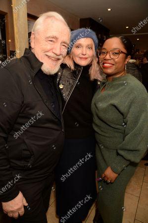 Stock Photo of Brian Cox, Miranda Richardson and Lawryn LaCroix