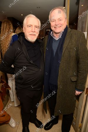 Brian Cox and Clive Anderson