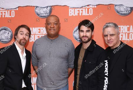 Laurence Fishburne, Sam Rockwell, Darren Criss and Neil Pepe