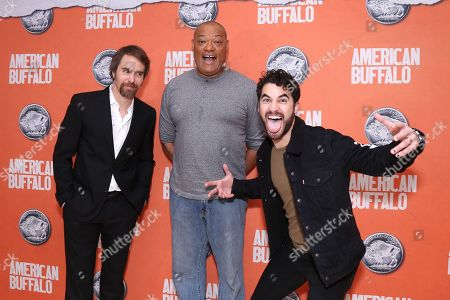Laurence Fishburne, Sam Rockwell and Darren Criss