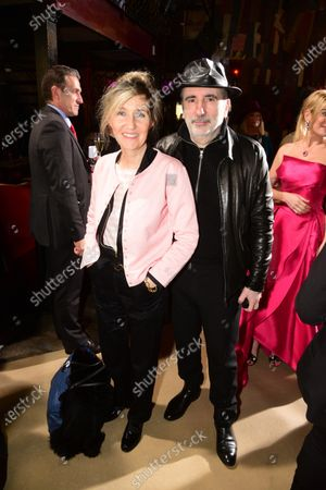 Stock Photo of Sylvie Bourgeois and Philippe Harel