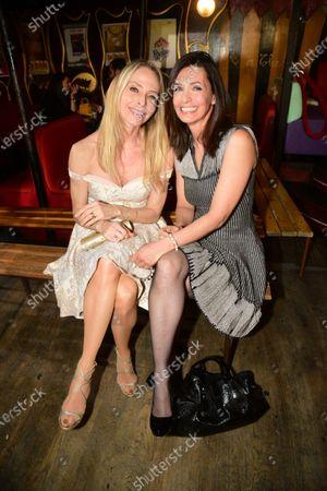 Tonya Kinzinger and Adeline Blondieau