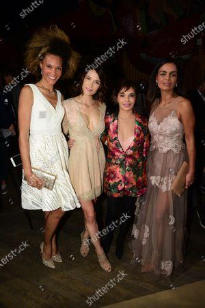 Stock Picture of Amanda Scott, Laetitia Fourcade, Saida Jawad and Laurence Roustandjee