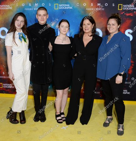 Marcia Gay Harden and guests