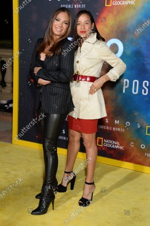 Alex Meneses and Dania Ramirez