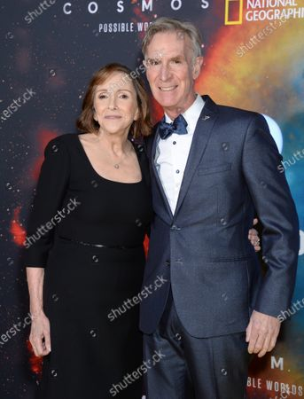 Ann Druyan and Bill Nye