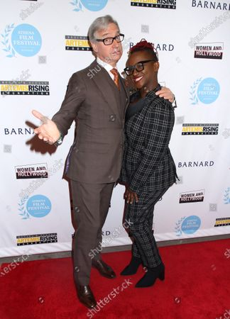 Stock Image of Paul Feig and Effie T. Brown