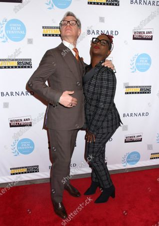 Stock Photo of Paul Feig and Effie T. Brown
