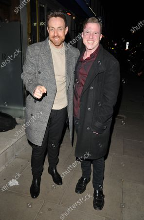 Stock Image of Stevi Ritchie and Paul Manners