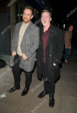 Stock Picture of Stevi Ritchie and Paul Manners