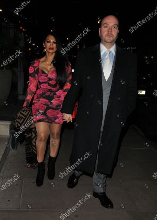 Stock Picture of Janine Nerissa and Jonathan Sothcott