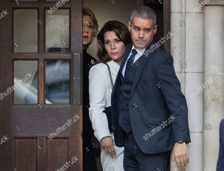 Editorial picture of Princess Haya Bint Al Hussein court hearing, London, UK - 26 Feb 2020