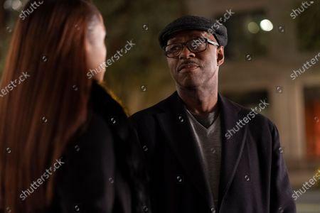 Issa Rae as Mae Morton and Courtney B Vance as Louis Morton