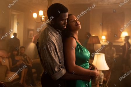 Y'Lan Noel as Isaac Jefferson and Chante Adams as Christina Eames
