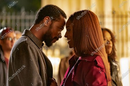 LaKeith Stanfield as Michael Block and Issa Rae as Mae Morton